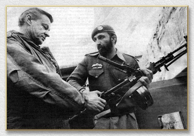 Osama Bin Laden ja USA presidendi julgeolekunõunik Zbigniew Brzezinski aastal 1979