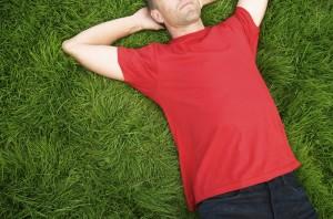man-in-grass