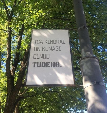 """""""Iga kindral on olnud kunagi tudeng"""" ehk teisisõnu iga mõrvar (või mõrvarite juht) on olnud kunagi laps"""