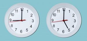 Nine To Five Wall Clocks