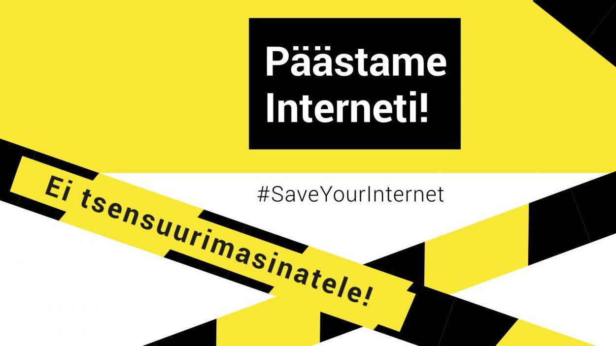 Tallinnas toimub meeleavaldus internetivabaduse toetuseks