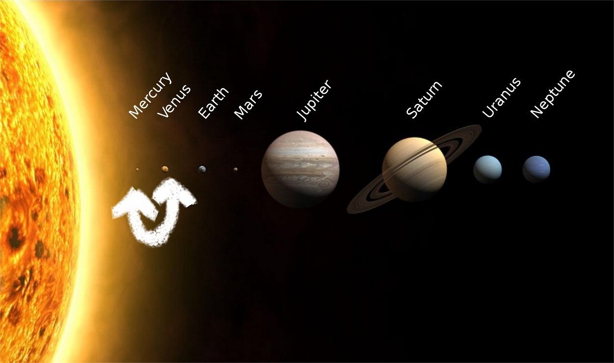 Muudatus Maatriksis: Veenuse asemel on nüüdsest meie lähim planeet Merkuur