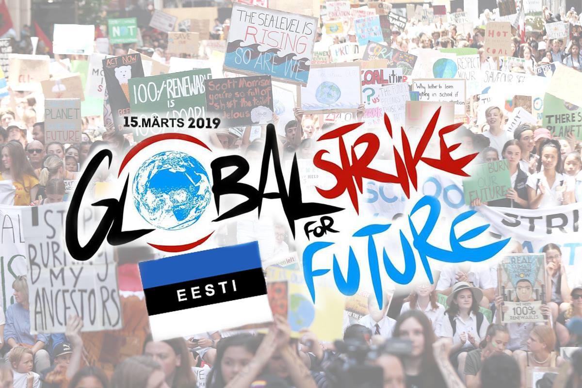 Sel reedel toimub Tallinnas ja Tartus Ülemaailmne Kliimastreik
