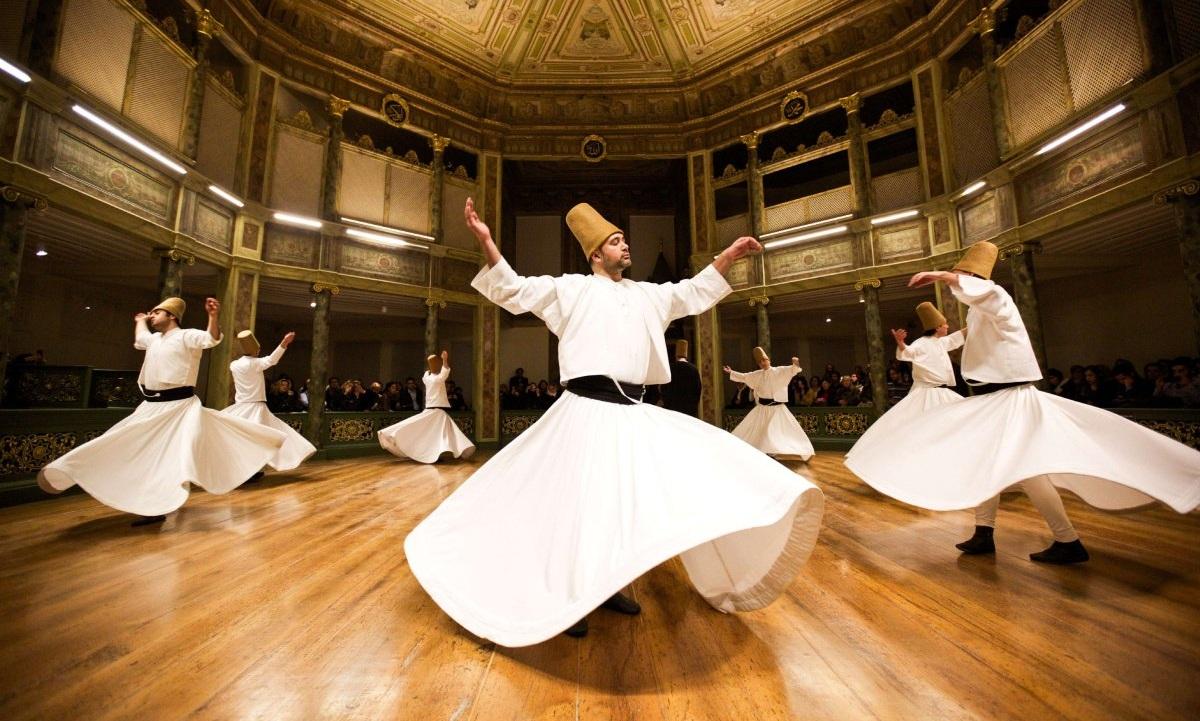 Sufide meditatsioon – tantsides ja pööreldes muutunud teadvuse seisundisse
